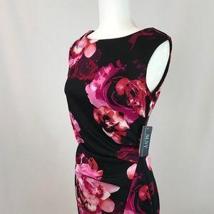 Sally Lou Fashions flower dress, sleeveless